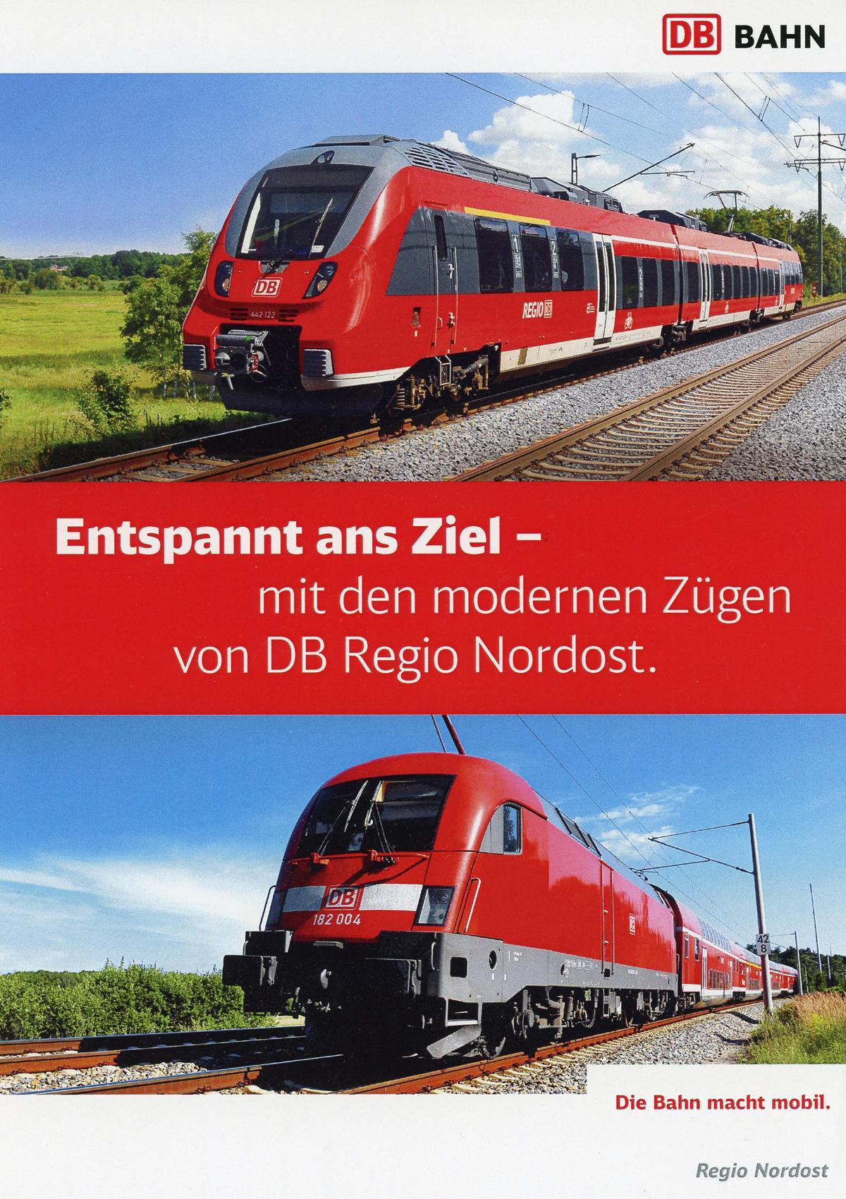 Auftragsfotografie für DB Regio
