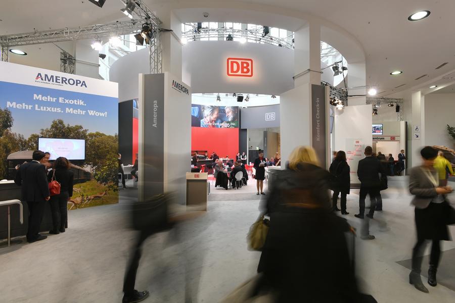 JET-FOTO vom Messestand Deutsche Bahn auf der ITB 2018