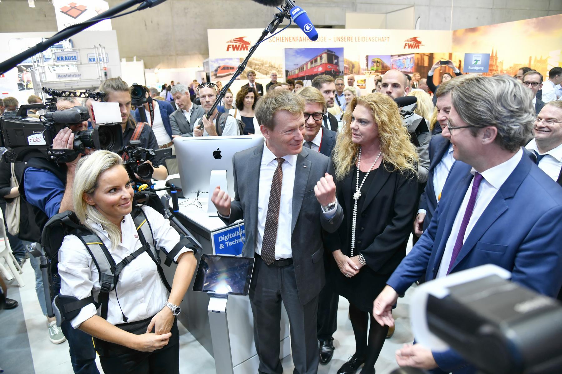Eventfotografie: Deutsche Bahn und Minister Scheuer